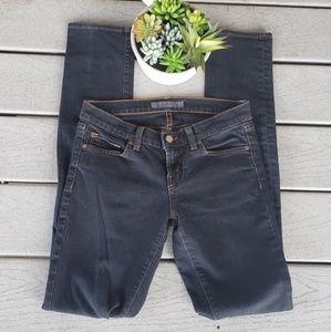 J Brand 912 Dark Wash Long Pencil Leg Skinny Jeans